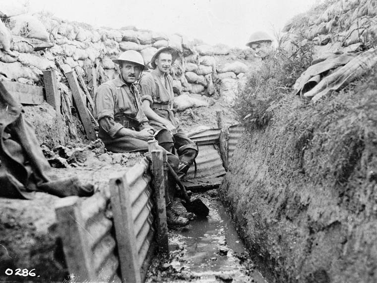 ARCHIVED - Trench Warfare - Oral Histories of the First World War ...
