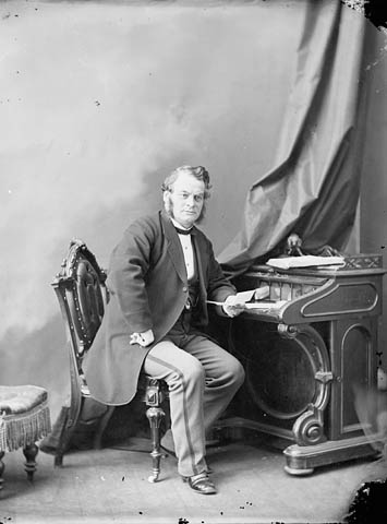 Photograph: Hon. Samuel Leonard Tilley, MP, Saint John, N.B., February 1869