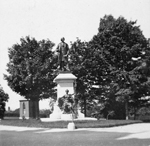 Photograph of the SirJohnA.Macdonald Monument, Parliament Hill, Ottawa, ca.1900&#160;-&#160;1939