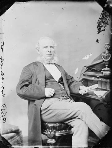 Photograph: Hon. Jonathan McCully (Senator), May 1868 / Ottawa, Ontario