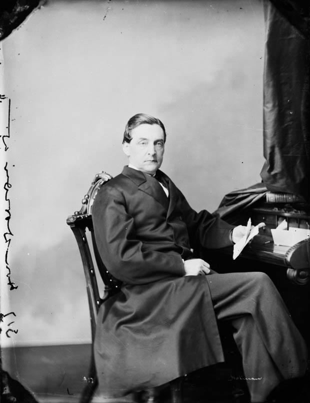 Photo : L'honorable Antoine-Aimé Dorion, député; Ottawa (Ontario); mars 1868