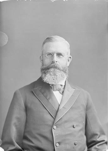 Photo : L'honorable William Mulock, député de York-Nord (Ontario) et ministre des Postes; Ottawa (Ontario); 1896