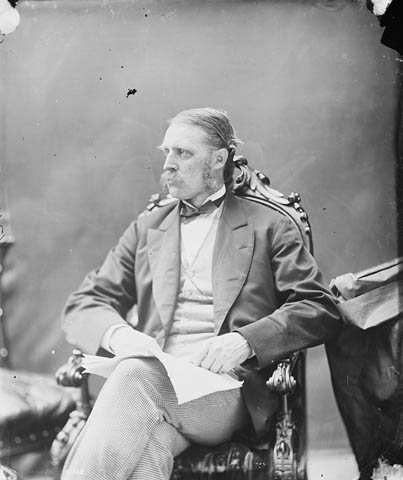Photograph: Hon. William McDougall, June 1872