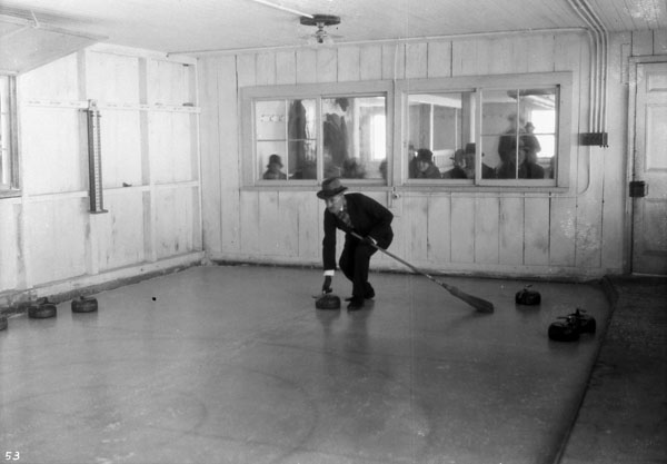 Match de curling au Rideau Hall, 1927