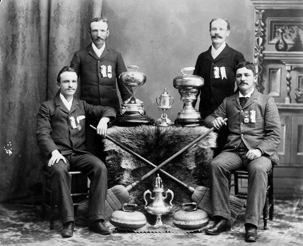 Curling champions of Walkerville, 1894