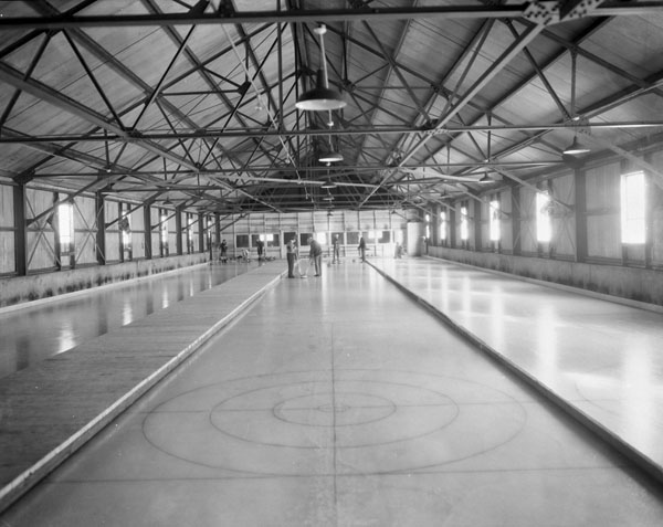 Canada Steamship Lines, Manoir Richelieu curling rink, Pointe-au-Pic, Quebec