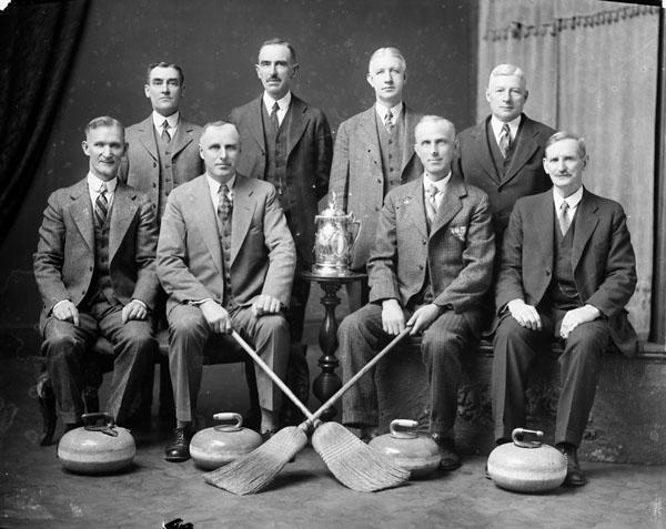 Senior curling champions