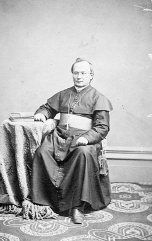 Photograph: Mgr. Alexandre-A. Taché, bishop of St. Boniface