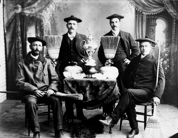 Gore Bay champion curling team, 1890