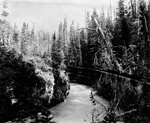 Photograph of the Little Nass River, British Columbia, 1899