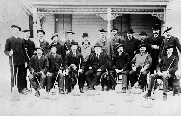 L'Ottawa Curling Club, 1903