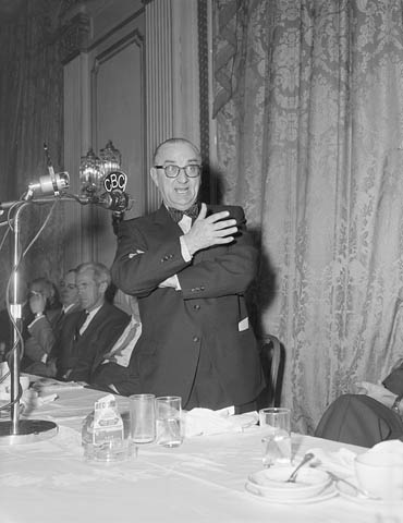 Photo : L'honorable Joseph Roberts Smallwood, 1954