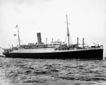 Photograph of the passenger liner AUSONIA, ca. 1939
