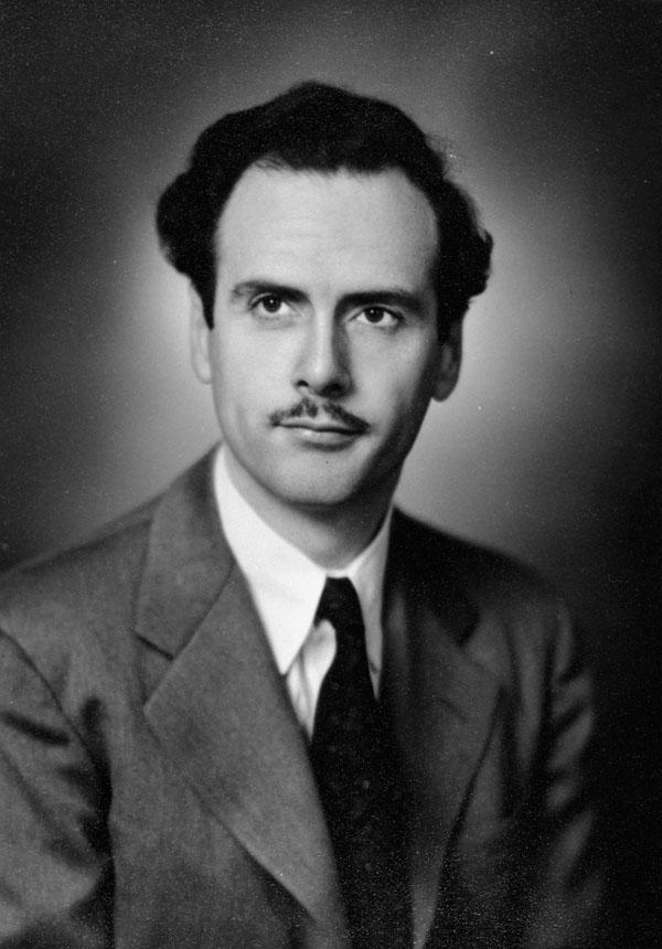 Photograph of Marshall McLuhan, 1945