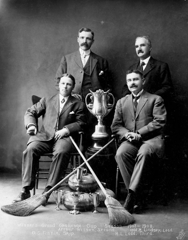 Winners of the Grand Challenge Cup, 1907-1908