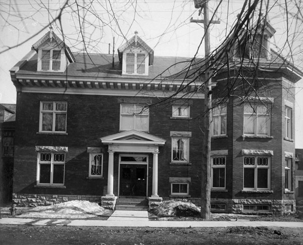 Pavillon de l'Ottawa Curling Club, 1912