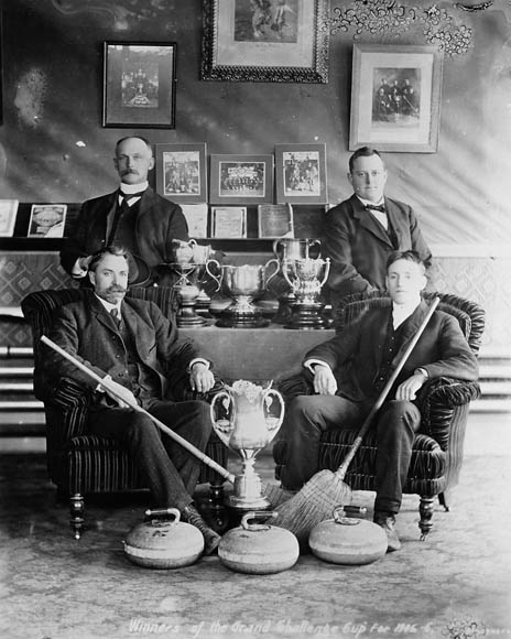 Gagnants de la coupe Grand Challenge, 1905-1906