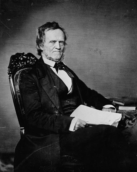 Photograph: William Lyon Mackenzie, ca. 1851-1861