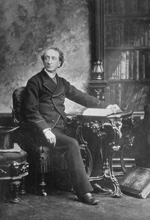 Photograph of Sir�John�A.�Macdonald, ca.�1877