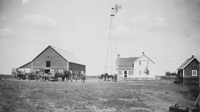Alberta and Saskatchewan 1905 Library and Archives Canada
