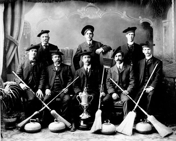 District Champions, Orillia, Ontario, 1905
