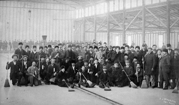 Group of curlers