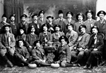 Photograph of the Scottish curling team touring Canada, Winnipeg, 1903