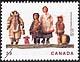 Canada, 39¢ Native dolls, 8 June 1990