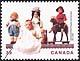 Canada, 39¢ Commercial dolls, 8 June 1990