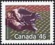 Canada, 46¢ Wolverine, 28 December 1990