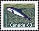 Canada, 63¢ Harbour porpoise, 28 December 1990