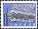 Canada, 40¢ Eusthenopteron foordi, 5 April 1991