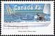 Canada, 40¢ Sailing dinghy, 18 July 1991