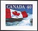 Canada, 40¢ Canadian flag quick sticks stamp pack, 11 January 1991