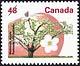 Canada, 48¢ McIntosh apple, 27 December 1991