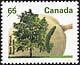Canada, 65¢ Black walnut, 27 December 1991