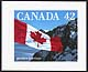Canada, 42¢ [The Flag - quick stick], 28 July 1992