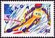 Canada, 42¢ Alpine skiing, 7 February 1992