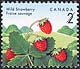 Canada, 2¢ Wild strawberry, 5 August 1992