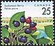 Canada, 25¢ Saskatoon berry, 5 August 1992