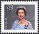 Canada, 43¢ [Elizabeth II], 30 December 1992