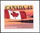 Canada, 43¢ [The Flag - quick stick], 15 February 1993