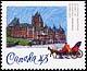 Canada, 43¢ Le Château Frontenac, 14 June 1993