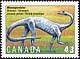 Canada, 43¢ Massospondylus, 1 October 1993