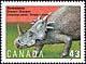 Canada, 43¢ Styracosaurus, 1 October 1993