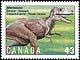 Canada, 43¢ Albertosaurus, 1 October 1993