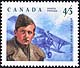 Canada, 43¢ Billy Bishop <Air Ace>, 12 August 1994