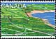 Canada, 43¢ [Partially eroded fortifications], 5 May 1995