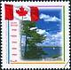 Canada, 43¢ Flag  1965-1995, 1 May 1995