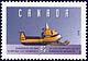 Canada, 43¢ Bombardier Ski-Doo Olymipique 335, Smowmobile, 1970, 26 May 1995